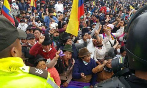 Ecuador: abbasso Moreno e il Fondo Monetario – Tutto il potere all'Assemblea Popolare!