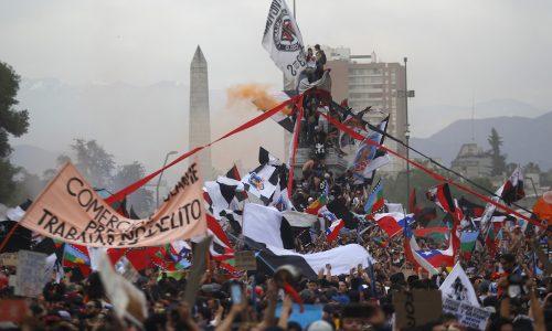 Insurrezione di massa in Cile