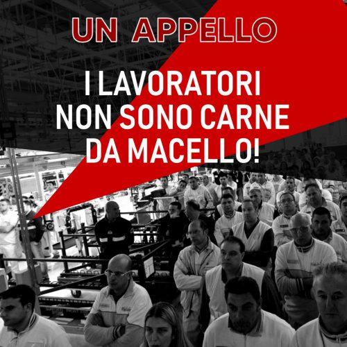 """Grande successo dell'appello internazionale """"Dai lavoratori italiani ai lavoratori del mondo"""""""