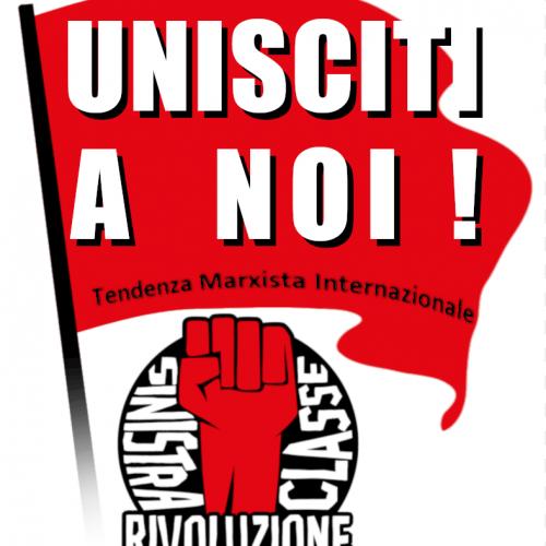 Unisciti a Sinistra classe rivoluzione!