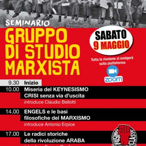Seminario nazionale dei Gruppi di studio marxista