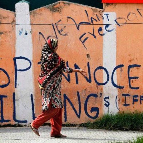 In difesa del diritto del popolo del Kashmir a decidere il proprio destino!