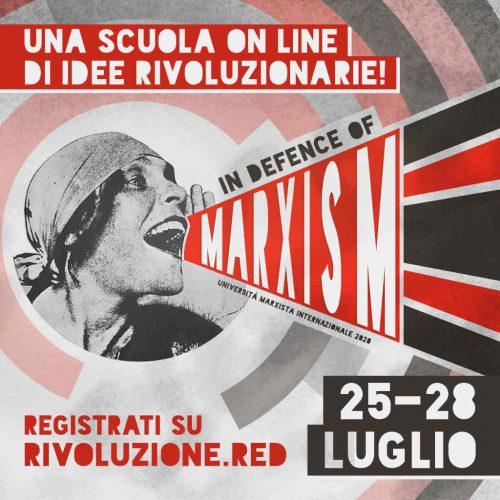 Partecipa all'Università marxista internazionale 2020!
