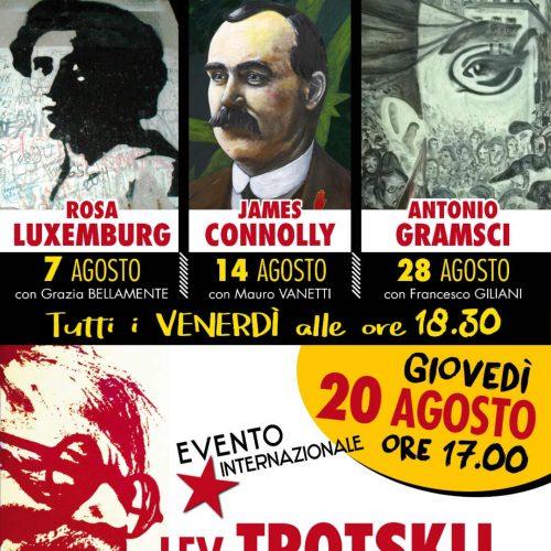 Agosto con i grandi rivoluzionari del XX secolo!
