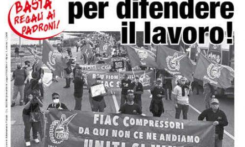 Nazionalizzare per difendere il lavoro!