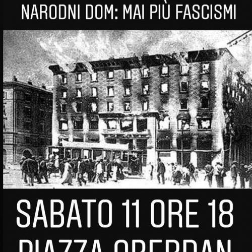 Trieste – Lettera aperta: Rispondere alle intimidazioni fasciste e al razzismo antisloveno con un programma di massima unità della classe lavoratrice