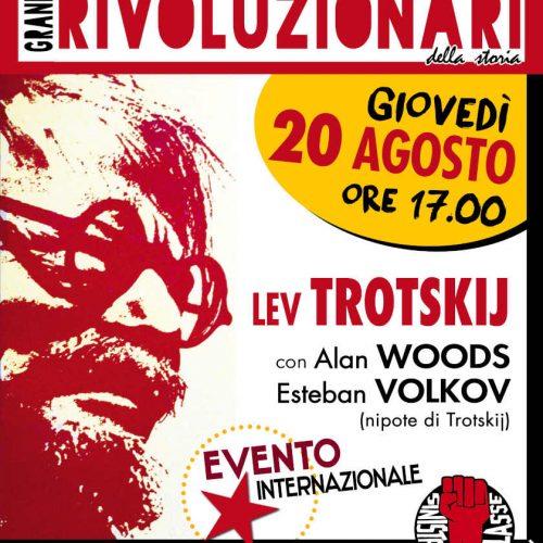 Evento internazionale – A 80 anni dall'assassinio di Trotskij