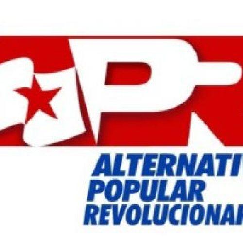 Venezuela – Nasce l'Alternativa Popular Revolucionaria