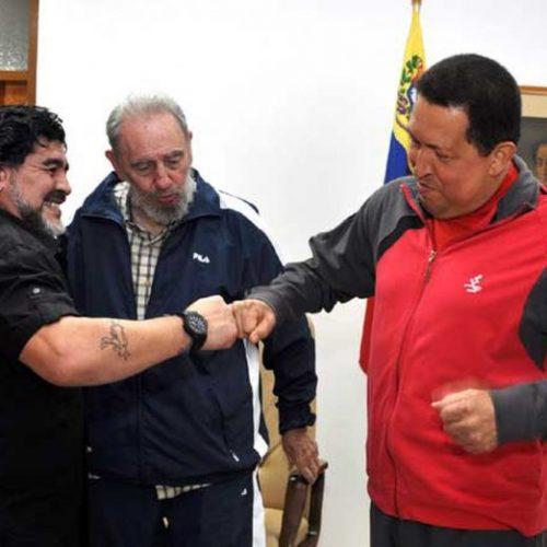 Maglia numero 10 e socialista. Maradona, presente!
