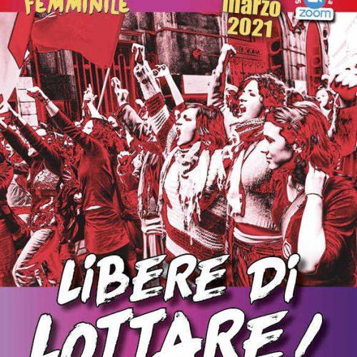 6-7 marzo 2021 – Libere di lottare! Convegno marxista sulla condizione femminile