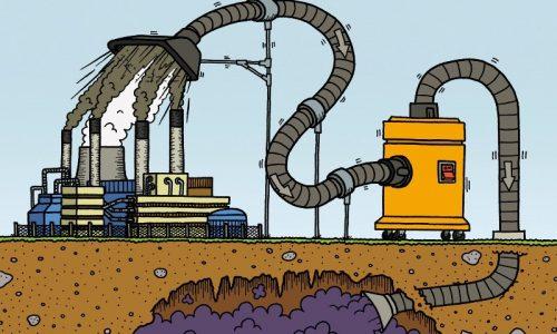"""Lo sporco sotto il tappeto – A proposito di """"decarbonizzazione"""" e cattura della CO2"""