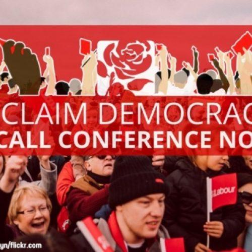 Campagna per un congresso straordinario del Labour: il controllo del partito deve tornare agli iscritti!