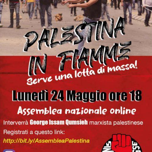 Assemblea sulla Palestina – Lunedì 24 maggio, ore 18