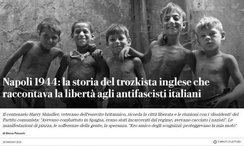 """""""Repubblica"""" e l'attività rivoluzionaria dei marxisti britannici a Napoli durante la Seconda guerra mondiale"""
