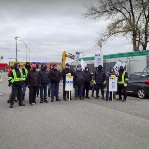 """Canada – Lo sciopero dei portuali di Montreal: Opponiamoci alla legislazione """"back-to-work"""" e difendiamo il diritto di sciopero!"""