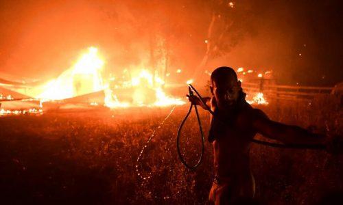 Incendi in Grecia – Il piromane è la classe dominante!