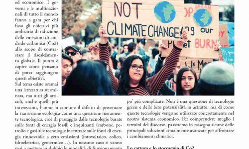 NUOVO VOLANTONE: La loro transizione e la nostra – Una prospettiva socialista