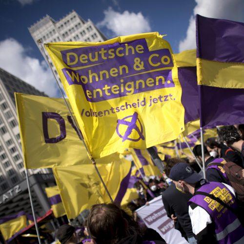 Berlino vota per l'esproprio dei grandi gruppi immobiliari!
